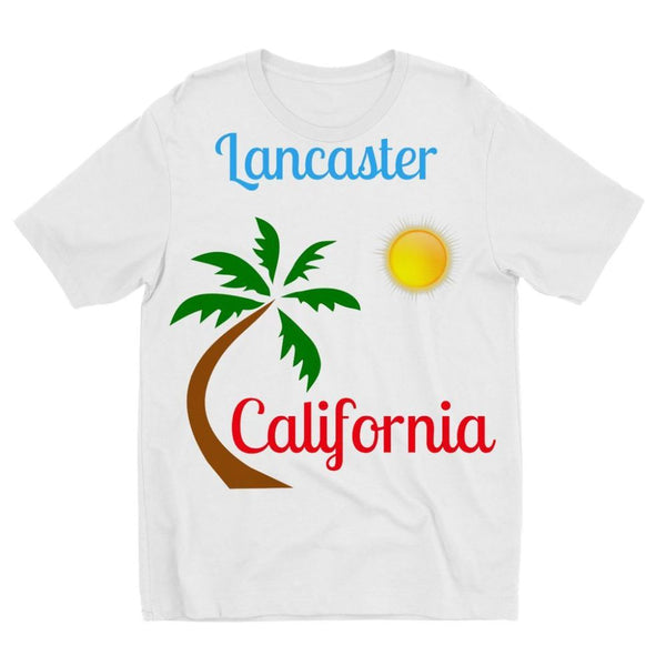 Lancaster California Kids Sublimation T-Shirt 3-4 Years Apparel
