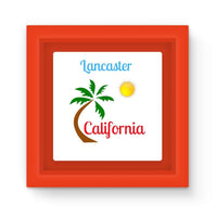 Lancaster California Magnet Frame Red Homeware