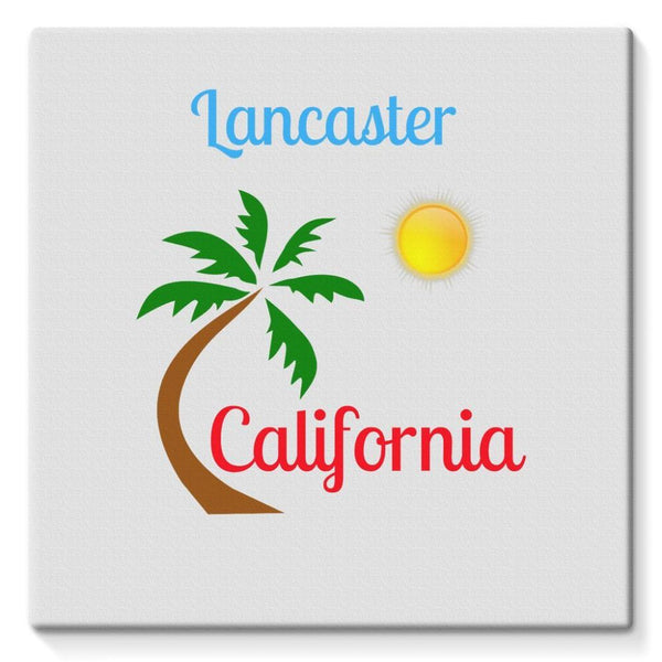 Lancaster California Stretched Eco-Canvas 10X10 Wall Decor