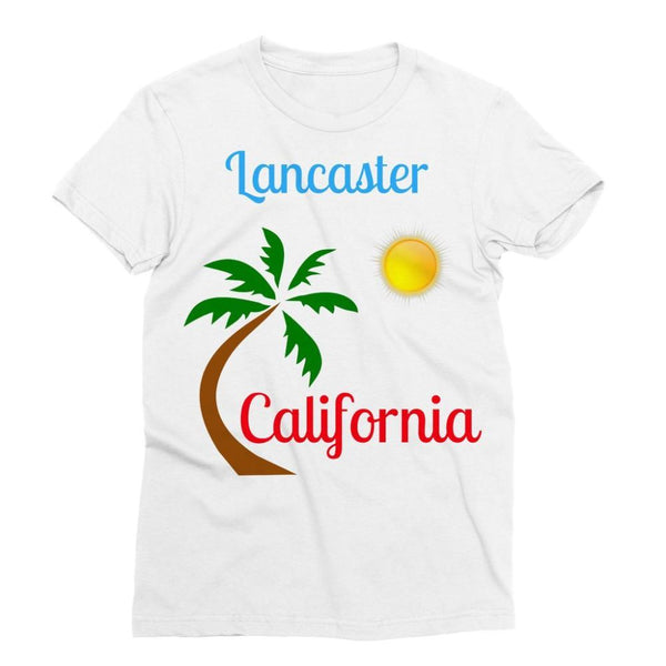 Lancaster California Sublimation T-Shirt Xs Apparel