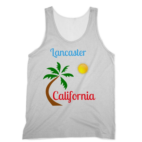 Lancaster California Sublimation Vest Xs Apparel
