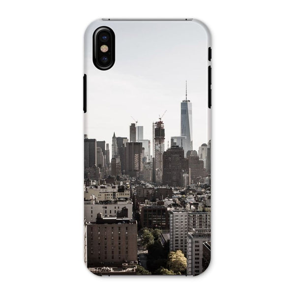Landscape Of New York City Phone Case Iphone X / Snap Gloss & Tablet Cases