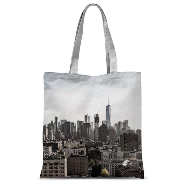 Landscape Of New York City Sublimation Tote Bag 15X16.5 Accessories