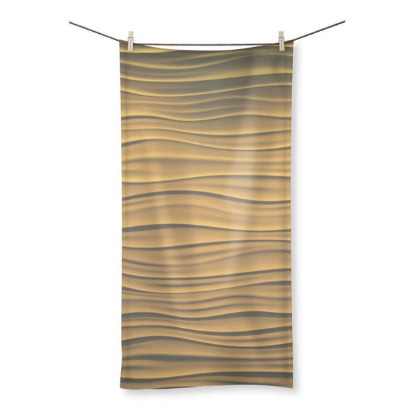 Light Zigzag Sand Beach Towel 19.7X39.4 Homeware