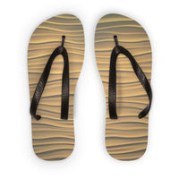 Light Zigzag Sand Flip Flops S Accessories