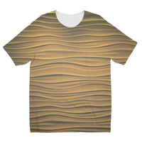 Light Zigzag Sand Kids Sublimation T-Shirt 3-4 Years Apparel