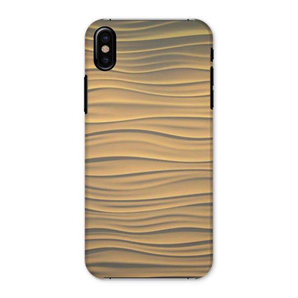 Light Zigzag Sand Phone Case Iphone X / Snap Gloss & Tablet Cases