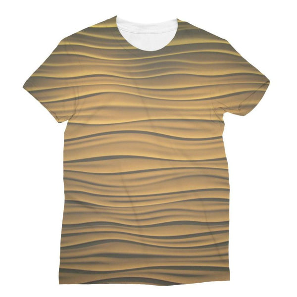 Light Zigzag Sand Sublimation T-Shirt Xs Apparel