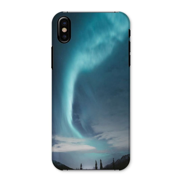 Lightning On Sky In Valley Phone Case Iphone X / Snap Gloss & Tablet Cases