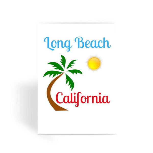 Long Beach California Greeting Card 1 Prints
