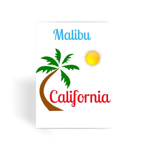Malibu California Greeting Card 1 Prints