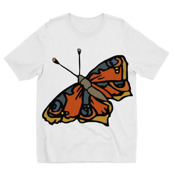 Many Browns Butterfly Kids Sublimation T-Shirt 3-4 Years Apparel