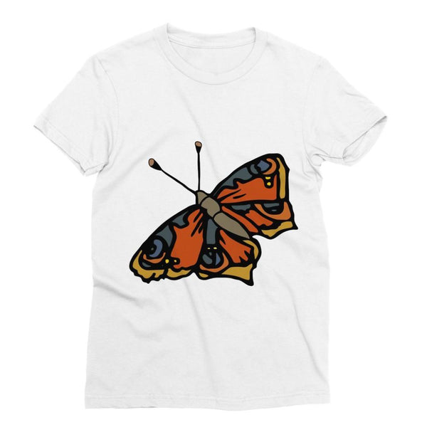 Many Browns Butterfly Sublimation T-Shirt S Apparel