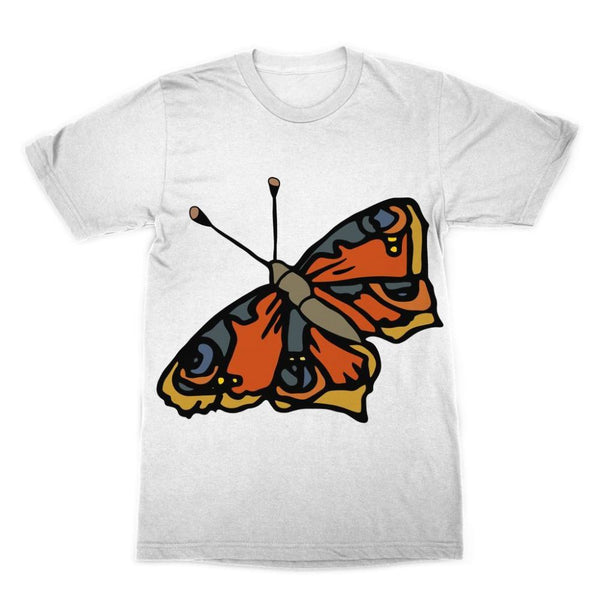 Many Browns Butterfly Sublimation T-Shirt Xs Apparel