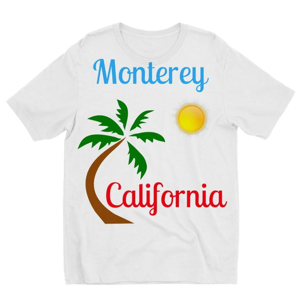 Monterey California Kids Sublimation T-Shirt 3-4 Years Apparel