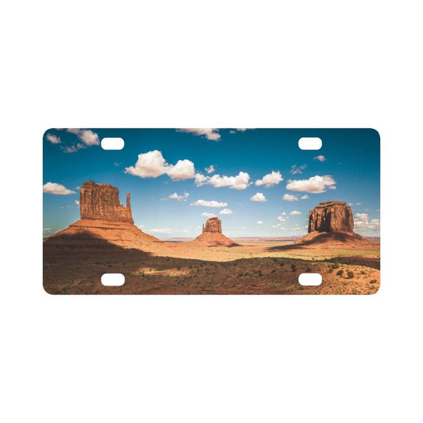 Monument Valley Classic License Plate
