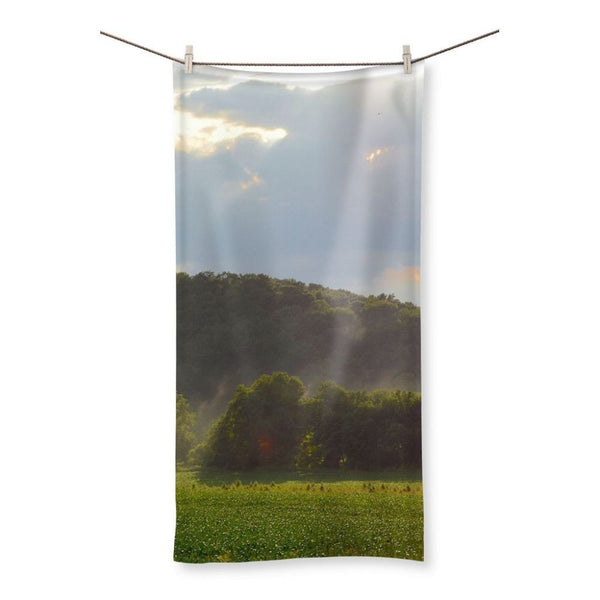 Mountain And Forest Beach Towel 19.7X39.4 Homeware