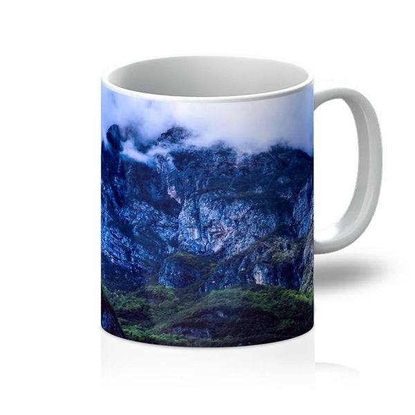 Mountain Covered Clouds Mug 11Oz Homeware