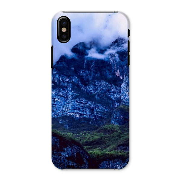 Mountain Covered Clouds Phone Case Iphone X / Snap Gloss & Tablet Cases