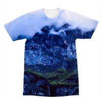 Mountain Covered Clouds Sublimation T-Shirt Xs Apparel