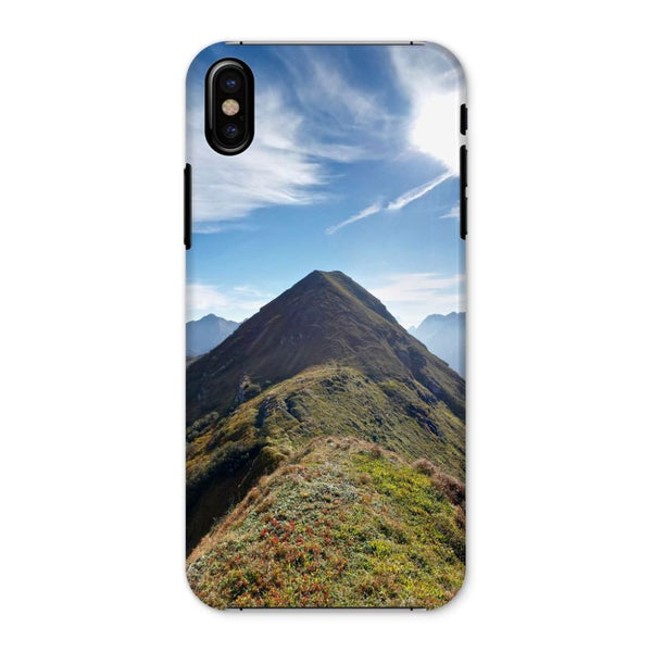 Mountain With Cloudy Sky Phone Case Iphone X / Snap Gloss & Tablet Cases