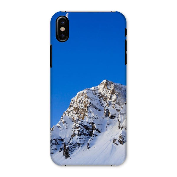 Mountain With Snow View Phone Case Iphone X / Snap Gloss & Tablet Cases