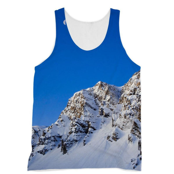 Mountain With Snow View Sublimation Vest Xs Apparel