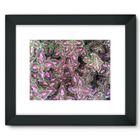 Multi Color Zigzag Framed Fine Art Print 16X12 / Black Wall Decor