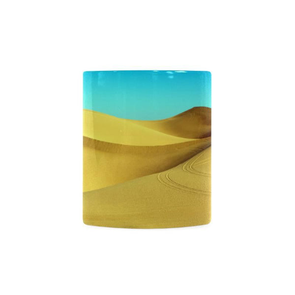 Mystical Hot Desert White Mug (11Oz)