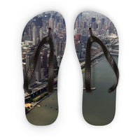New York City Near The River Flip Flops S Accessories