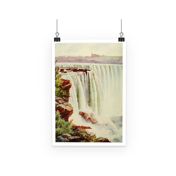 Niagara Falls Poster A3 Wall Decor