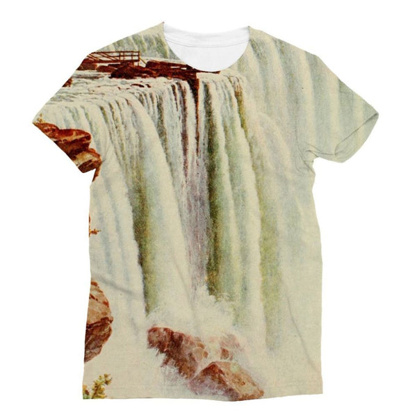 Niagara Falls Sublimation T-Shirt S Apparel