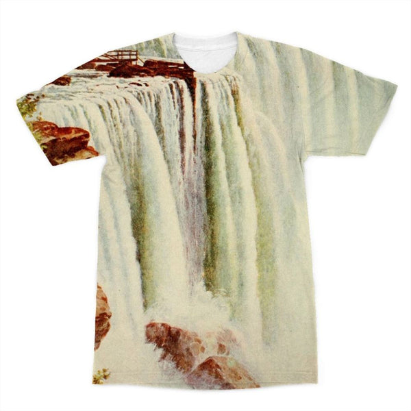 Niagara Falls Sublimation T-Shirt Xs Apparel