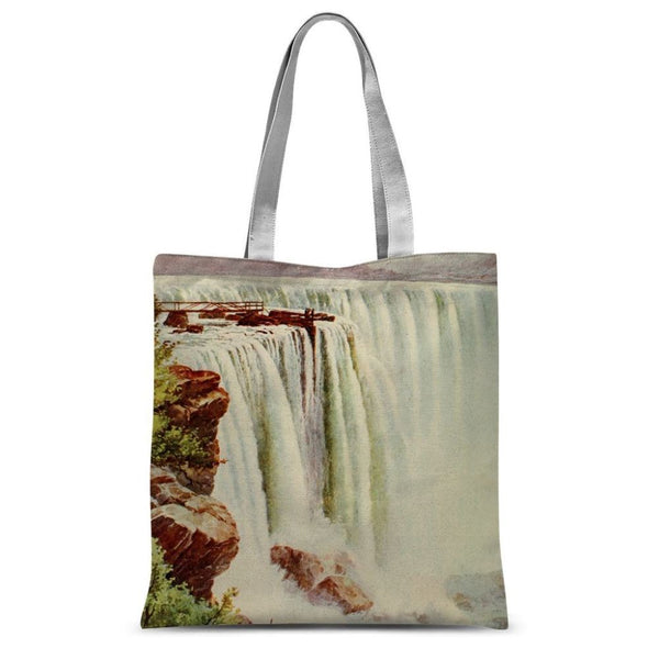 Niagara Falls Sublimation Tote Bag 15X16.5 Accessories
