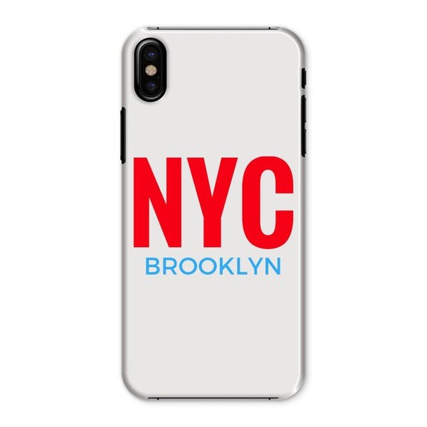 Nyc Brooklyn Phone Case Iphone X / Snap Gloss & Tablet Cases