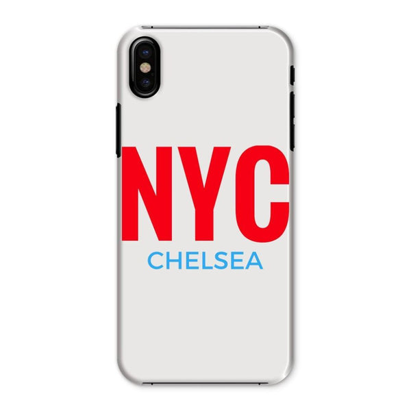 Nyc Chelsea Phone Case Iphone X / Snap Gloss & Tablet Cases