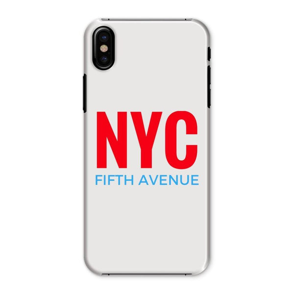 Nyc Fifth Avenue Phone Case Iphone X / Snap Gloss & Tablet Cases