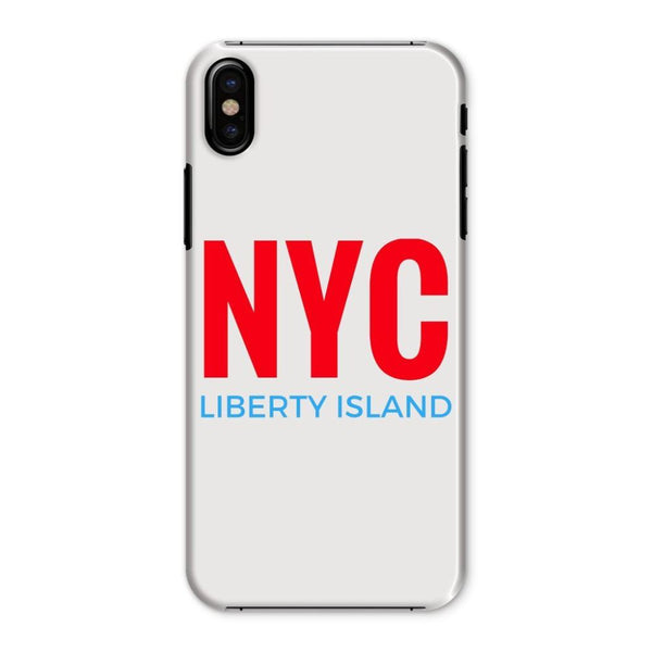 Nyc Liberty Island Phone Case Iphone X / Snap Gloss & Tablet Cases