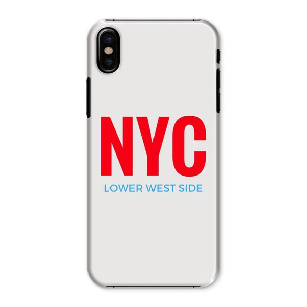 Nyc Lower West Side Phone Case Iphone X / Snap Gloss & Tablet Cases
