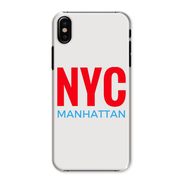 Nyc Manhattan Phone Case Iphone X / Snap Gloss & Tablet Cases