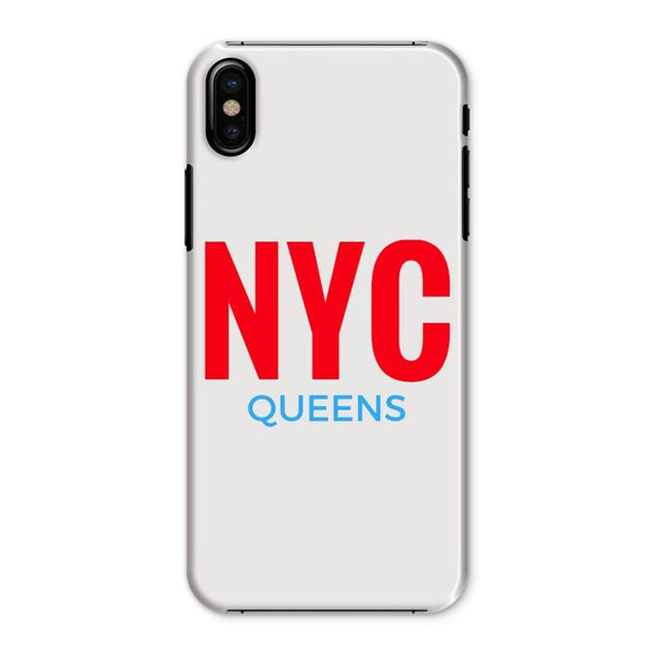 Nyc Queens Phone Case Iphone X / Snap Gloss & Tablet Cases