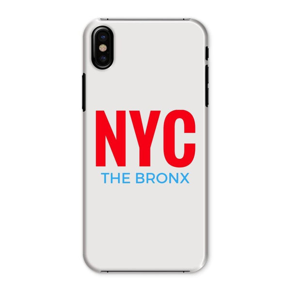 Nyc The Bronx Phone Case Iphone X / Snap Gloss & Tablet Cases