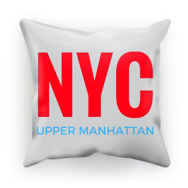 Nyc Upper Manhattan Cushion Linen / 12X12 Homeware