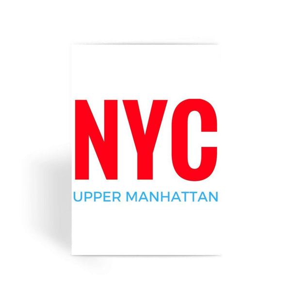 Nyc Upper Manhattan Greeting Card 1 Prints
