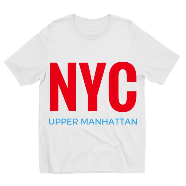 Nyc Upper Manhattan Kids Sublimation T-Shirt 3-4 Years Apparel