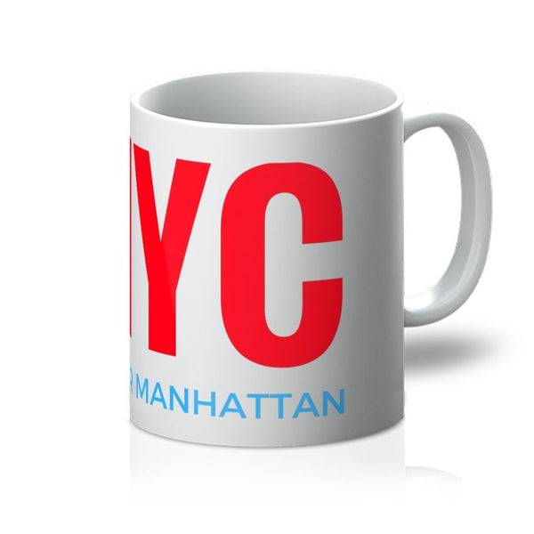 Nyc Upper Manhattan Mug 11Oz Homeware