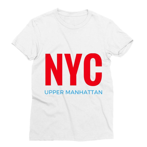 Nyc Upper Manhattan Sublimation T-Shirt S Apparel