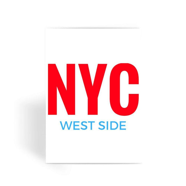Nyc West Side Greeting Card 1 Prints