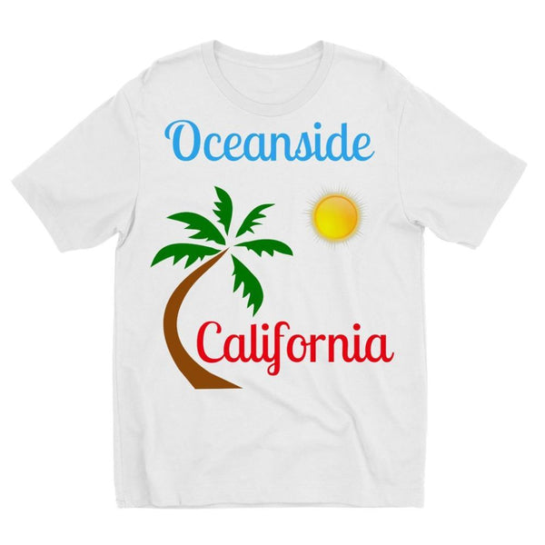 Oceanside California Kids Sublimation T-Shirt 3-4 Years Apparel