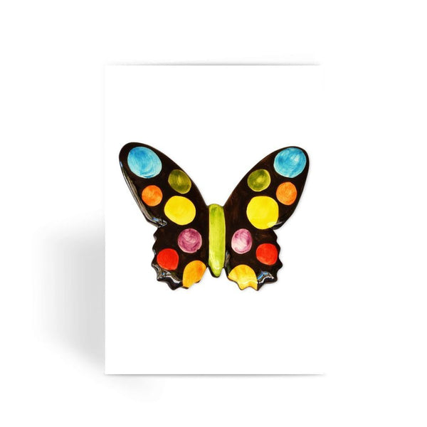Painted Butterfly Greeting Card 1 Prints